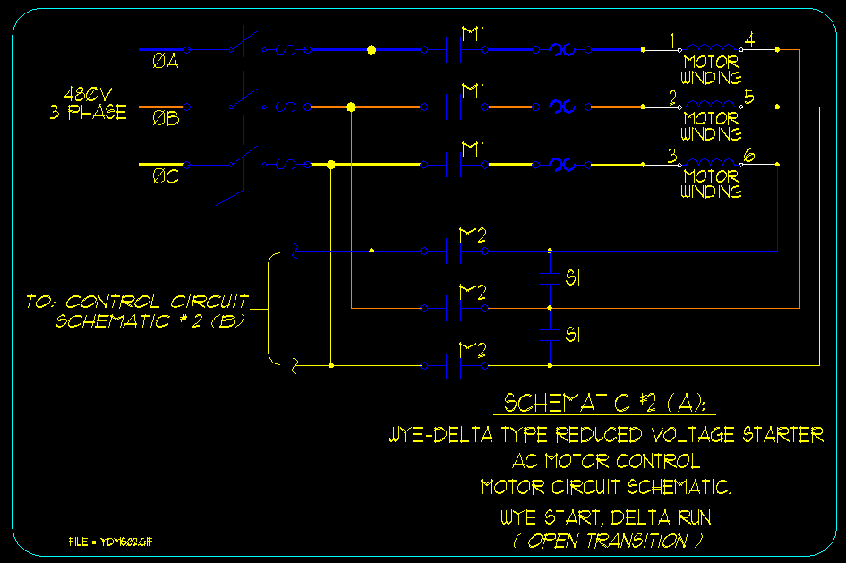 129?resize\=680%2C453\&ssl\=1 star delta starter wiring diagram the best wiring diagram 2017 208 3 Phase Motor Wiring at reclaimingppi.co