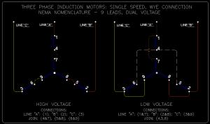 Wye  Delta Connection Detail Schematics  ECN Electrical