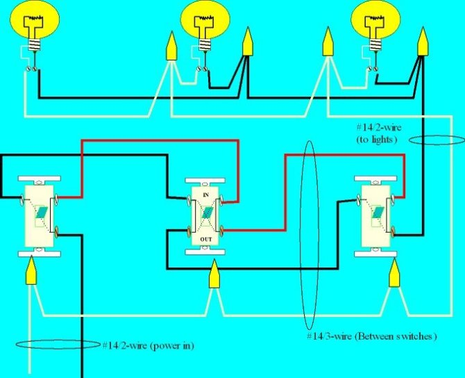 wiring a 4way switch  electrical online
