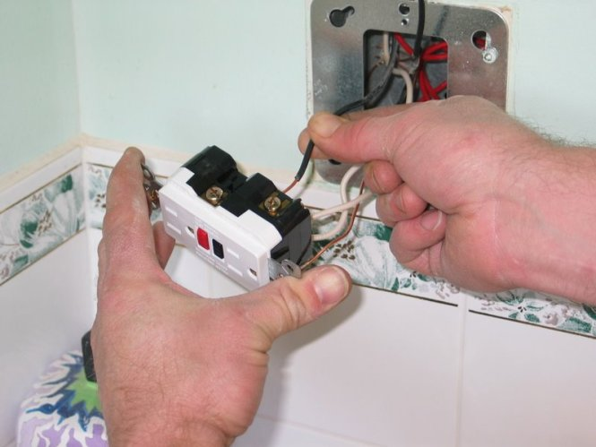 gfci outlet wiring diagrams wiring diagram how to finish a bat bathroom ceiling junction box wiring