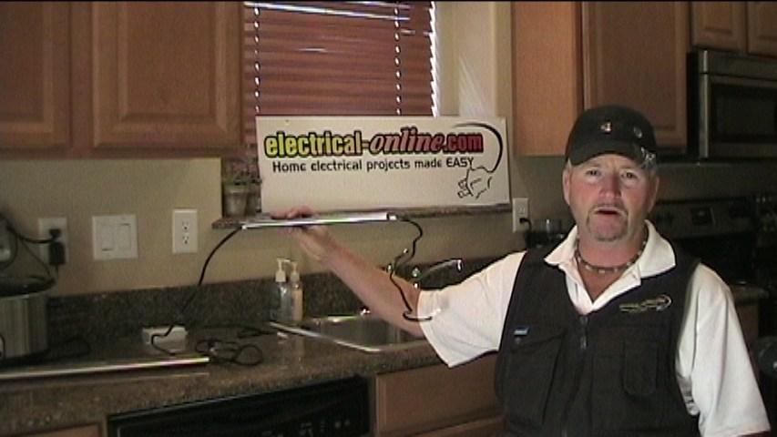 installing under cabinet lighting