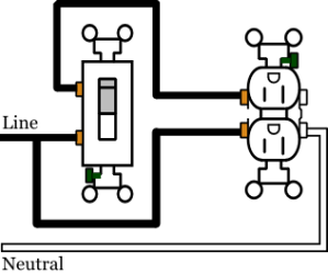 Wiring 2 half hot receptacles  3 way wiring  AVS Forum