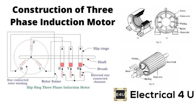 three phase ac motor wiring diagram  schematic wiring