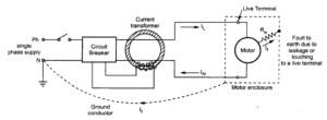 ELCB Earth Leakage Circuit Breaker Working Principle   Electrical4u