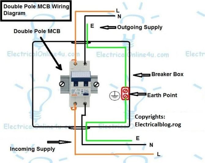double pole breaker wiring diagram  fan with heater 240v