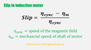 slip-in-induction-motor