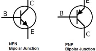 Bipolar junction transistor bjt schematic diagram