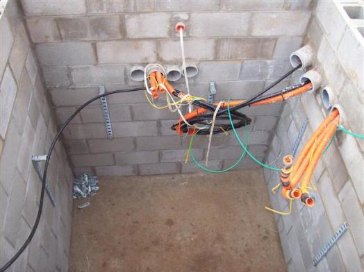optical fiber installation method statement