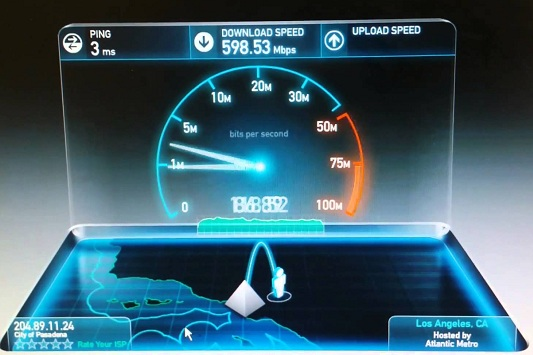 fiber optic internet speed comparison