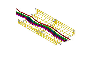 cable baskets cable management system