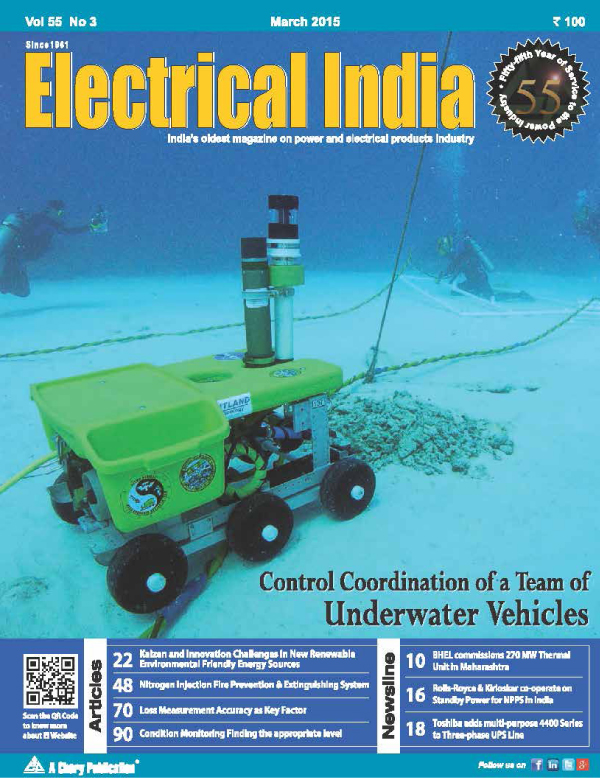 online news, blogs, news articles, Case Studies, Industry Articles, Article Publications, Journal | energy & power industry | Electrical India December 2015 - Electrical India Magazine on Power & Electrical products, Renewable Energy, Transformers, Switchgear & Cables