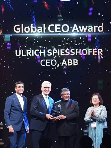 Electrical & Power Products Research & Development, Events, Seminars, Exhibitions on Electrical Power Distribution ABB CEO Gets India's NASSCOM Global CEO Award - Electrical India Magazine on Power & Electrical products, Renewable Energy, Transformers, Switchgear & Cables