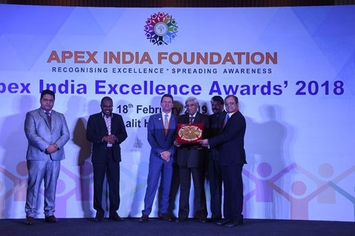 online news, blogs, news articles, Case Studies, Industry Articles, Article Publications, Journal | energy & power industry | CGPL bags 'Gold' at APEX India Occupational Health & Safety Excellence Award 2018 - Electrical India Magazine on Power & Electrical products, Renewable Energy, Transformers, Switchgear & Cables