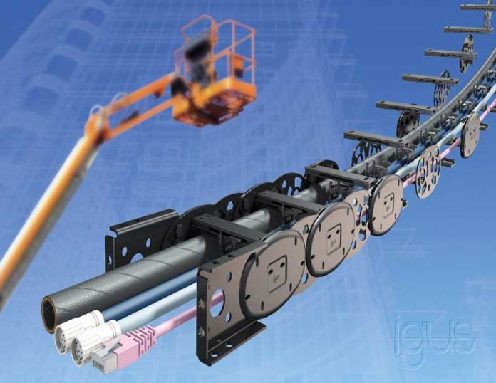 online news, blogs, news articles, Case Studies, Industry Articles, Article Publications, Journal | energy & power industry | 50 percent lighter: The world's first modular igus hybrid chain made of steel and plastic - Electrical India Magazine on Power & Electrical products, Renewable Energy, Transformers, Switchgear & Cables