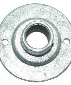 Spouted Dome Conduit Cover 20mm Malleable Iron Galvanised Top