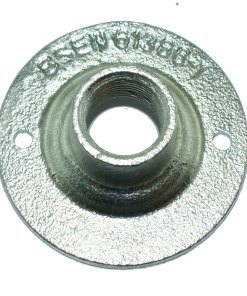 Spouted Dome Conduit Cover 20mm Malleable Iron Galvanised 2