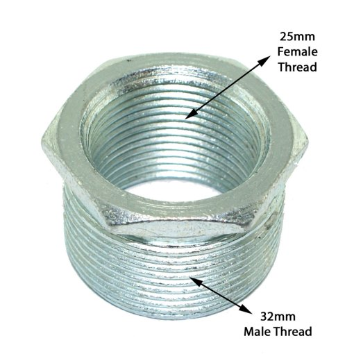 32mm to 25mm Conduit Reducer Explained