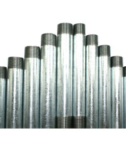 Pre Cut and Threaded Galvanised Conduit