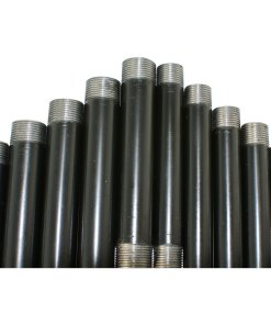 Pre Cut and Threaded Black Steel Conduit Tube