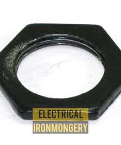 20mm Black Enamel Conduit Locknuts