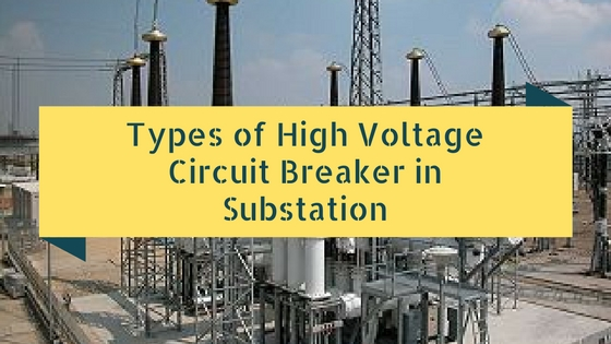 High Voltage Circuit Breaker