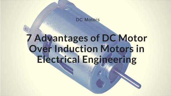 advantages of dc motor