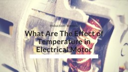 Temperature in Electrical Motor