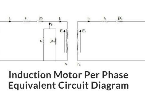 Explanation of induction motor equivalent circuit diagram