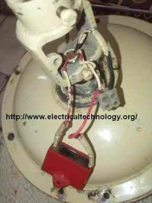 How to connect & Install a Capacitor with a Ceiling Fan