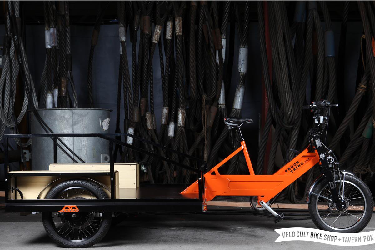 Downtown La Motors >> Truck Trike Heavy Duty Hauling Ebike | ELECTRICBIKE.COM