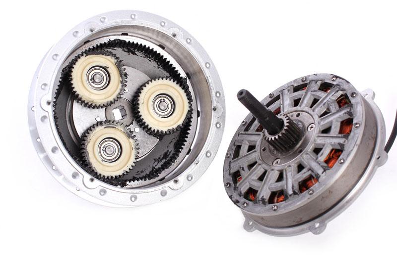 где бы почитать про сцепление шестерёнок в мотор-колесе