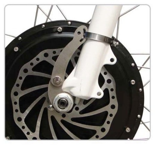 Torque Arms on Hub Motor Bikes | ELECTRICBIKE COM
