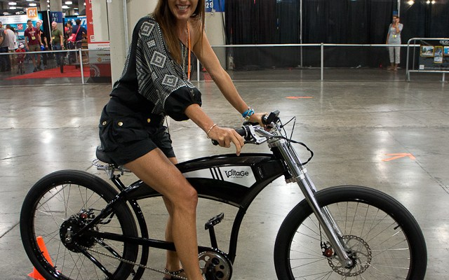 New Electric Bikes At Interbike 2012