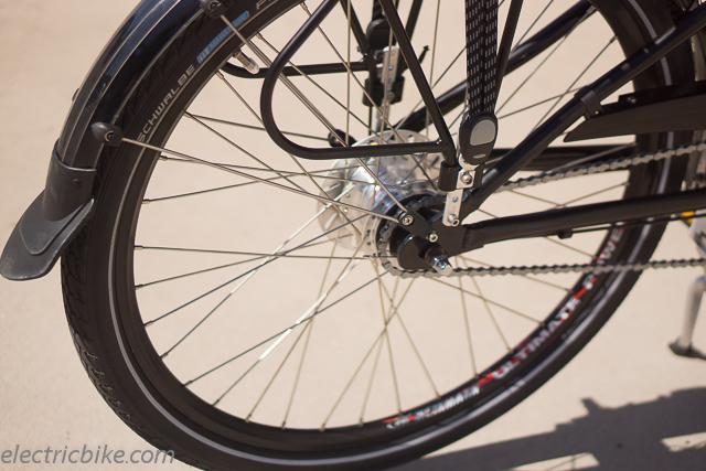 Hebb ezee ebike review electricbike com for Electric bike hub motor planetary gear