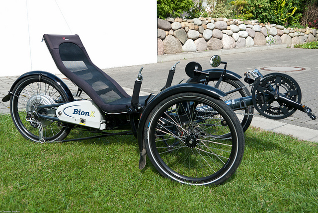 full suspension electric trike