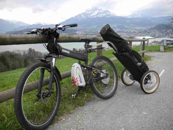 montague golf electric bike