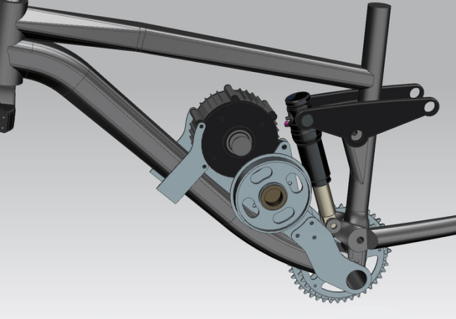 Custom electric bike parts can easily be made with CAD / CAM