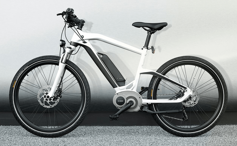 0d2d54f7789 The hydroformed aluminum tubing and smoothly blended welds add distinctive  touches to this understated but very upscale E-bike