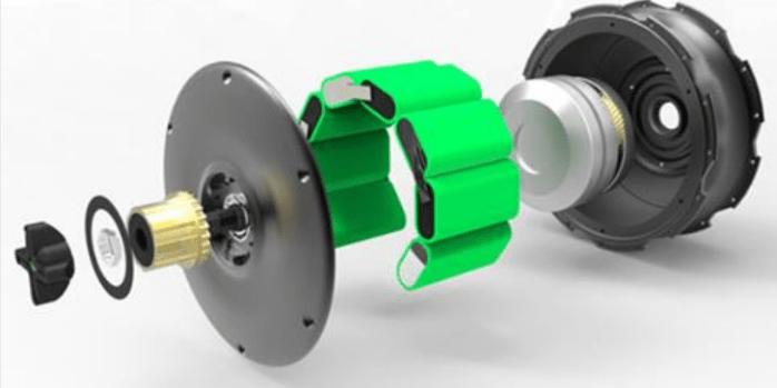 The ZeHus Bike+ motor system.