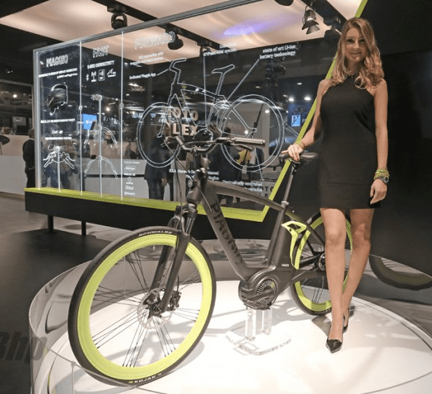 The 2014 Piaggio Electric Bike Project.