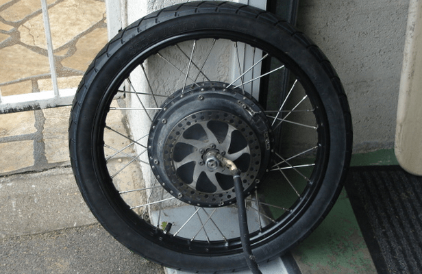 If you want a big hot rod hubmotor, you need moped rims