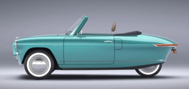 Nobe is making a cute retro 3-wheel electric car | ELECTRICBIKE.COM
