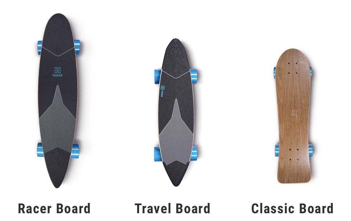 Huger Electric Skateboards