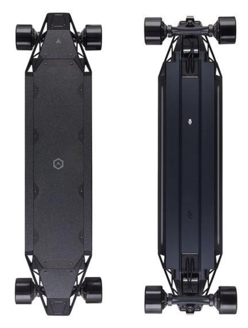 Acton QU4TRO Skateboard