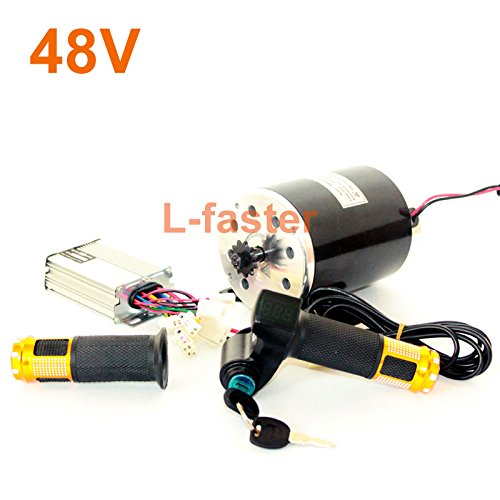 36V48V 750W Electric Motorcycle Conversion Kit MY1020 UNITEMOTOR Permanent Magne