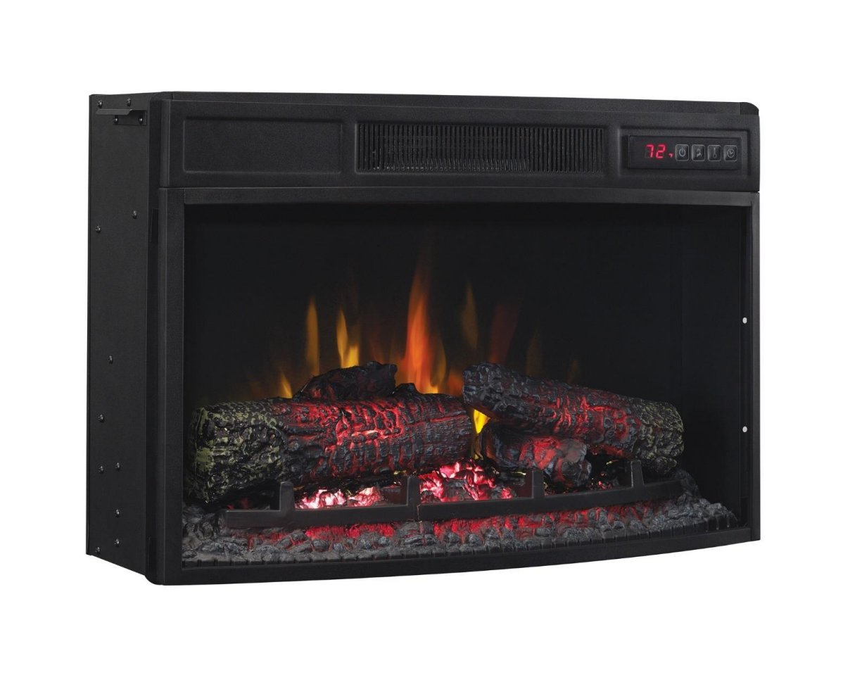 Classic Flame 25 25ef033clg Curved Electric Fireplace