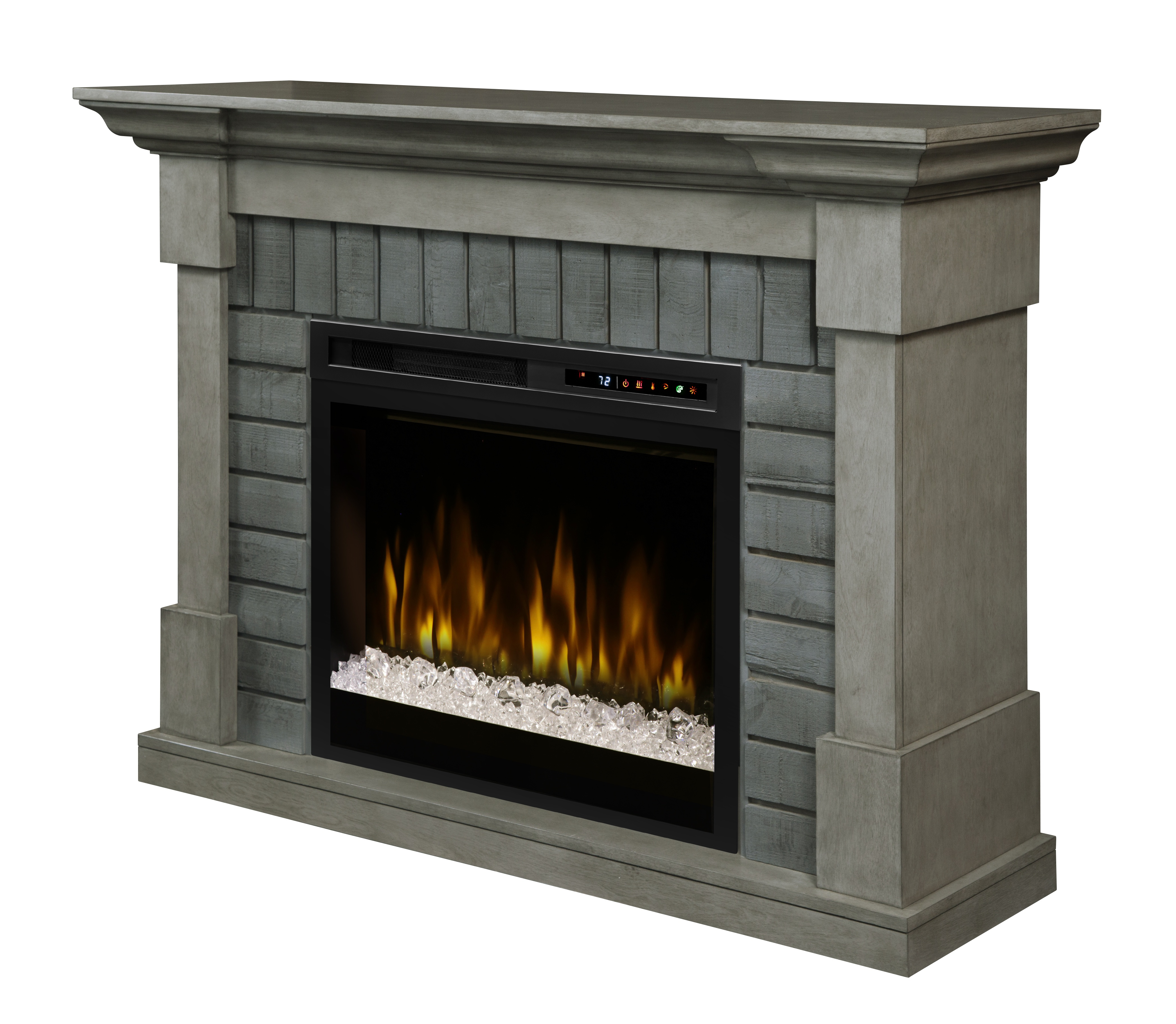Dimplex Royce Gds28g8 1924sk Electric Fireplace With Glass Embers