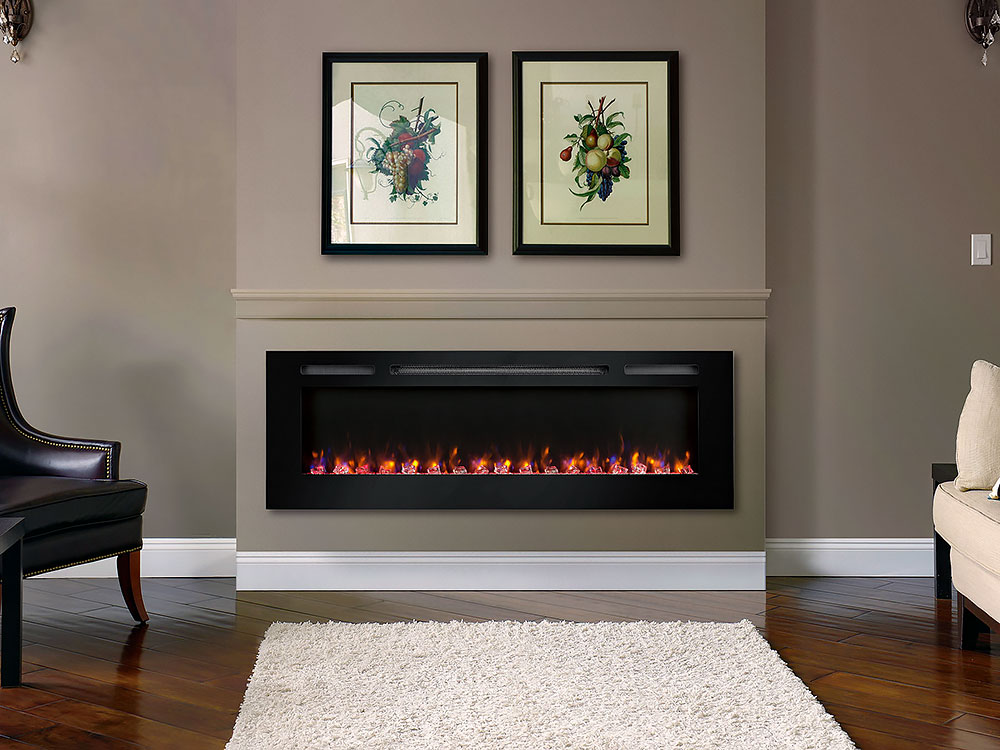 Dynasty 60 Built In Electric Fireplace Dy Btw60 Dynasty Fireplaces