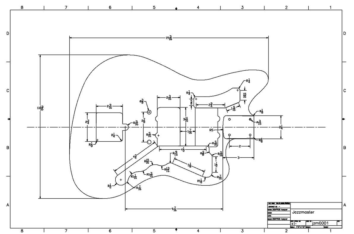 Guitar Cab Diagram