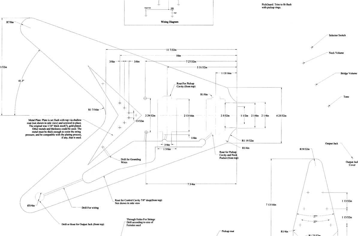 Gibson Flying V Wiring Diagram